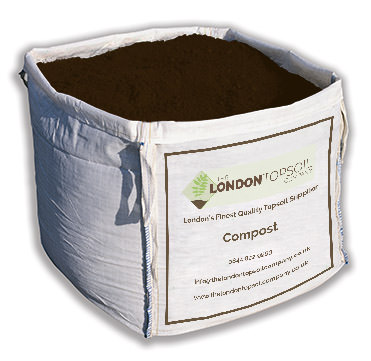 10mm compost bulk bag the london topsoil company for Compost soil bags