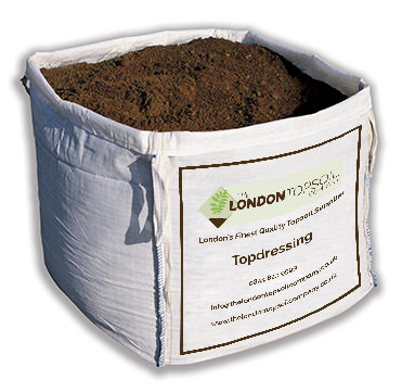 Topdressing bulk bag the london topsoil company for Compost soil bags